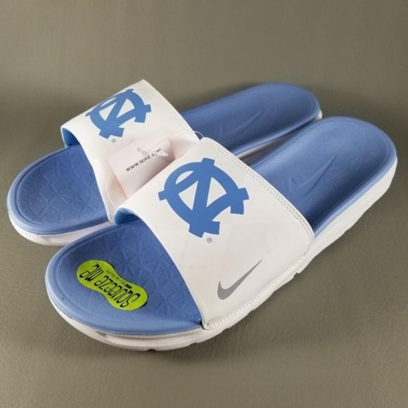 2e4e7f0000f Nike Shoes | Unc North Carolina Tar Heels Benassi Slides | Poshmark